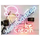 MELLOBUTTERCUP ICE CREAM NEON