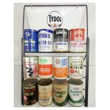 TYDOL OIL RACK DISPLAY W/ CANS