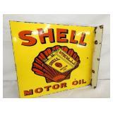 15X21 PORC. SHELL MOTOR OIL FLANGE