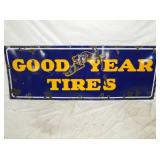 24X66 PORC. GOODYEAR TIRES SIGN
