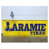 18X48 LARAMIE TIRES SIGN