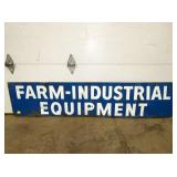 15X67 FARM INDUSTRIAL EQUIPMENT SIGN