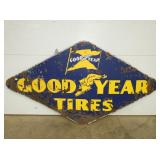 52X96 PORC. GOODYEAR TIRES SIGN