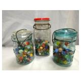 MARBLES AND JARS