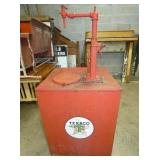 LARGE TEXACO KEROSENE PUMP