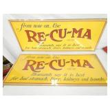VIEW 2 16X40 CARDBOARD RECUMA SIGNS