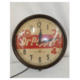 DR. PEPPER ADV. CLOCK