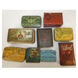 VARIOUS TOBACCO POCKET TINS