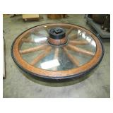 40IN WAGON WHEEL TABLE