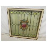 42X42 STAINED GLASS WINDOW