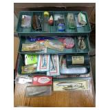 VARIOUS FISHING LURES