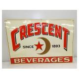 131/2X19 1/2 EMB. CRESCENT SIGN