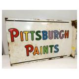 16X25 PORC. PITTSBURGH PAINTS FLANGE SIGN
