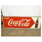 18X54 1949 COKE ARROW SIGN