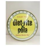 12IN. DIET-RITE COLA THERM.