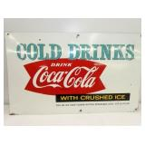 15X25 COKE FISHTAIL SIGN
