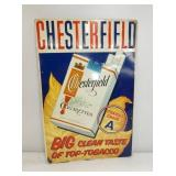 12X18 EMB. CHESTERFIELD SIGN W/LEAF