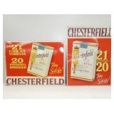 18X24 EMB. CHESTERFIELDS SIGNS
