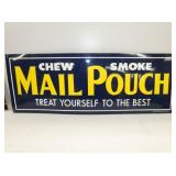 12X35 EMB. MAIL POUCH SIGN