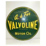 VIEW 2 OTHERSIDE EARLY VALVOLINE SIGN