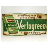 18X36 EMB. VERTAGREEN FERTILIZER SIGN