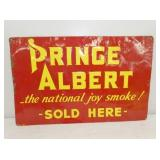 14X22 EMB. PRINCE ALBERT SIGN