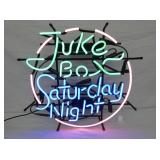 24IN. JUKE BOX SATURDAY NIGHT NEON