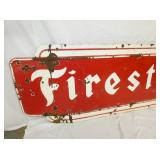 VIEW 2 LEFT SIDE PORC. FIRESTONE SIGN
