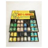 15X16 MET-L-NAMEL PAINT DISPLAY