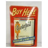 12X18  EMB. CHESTERFIELD SIGN