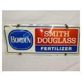 12X30 BORDEN/SITH DOUGLAS FERTILIZER SIGN