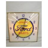 16IN. PAM FORD PARTS CLOCK