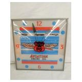 15IN. PAM PHILLIPS 66 AVIATION CLOCK