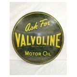 VIEW 2 OTHER SIDE VALVOLINE SIGN