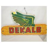 16X31 DEKALB MASONITE SIGN