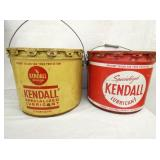 25LBS. KENDALL LUBRICATION CANS