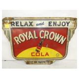 16X24 DIE CUT ROYAL CROWN SIGN