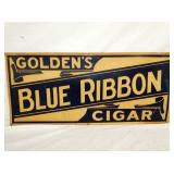 16X36 BLUE RIBBON CIGAR CARDBOARD