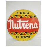 42IN. NUTRENA FEEDS BUBBLE SIGN