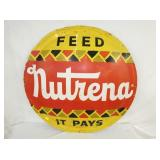 VIEW 2 CLOSE UP NUTRENA FEEDS SIGN