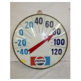 19IN. GLASS FRONT PEPSI THERM.