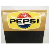 VIEW 2 TOP PEPSI MENU W/CAP