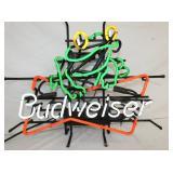BUDWEISER NEON W/FROG