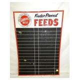 28X40 GOOCHES FEED STORE MENU SIGN