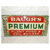 34X70 BAUGHS PLANT FEED SIGN