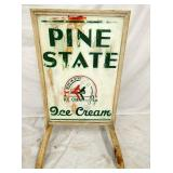 VIEW 2 OTHERSIDE PINE STATE SIDEWALK SIGN