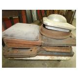 CAST IRON GAS PUMP BASES