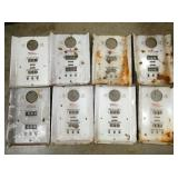 ORG. TOKHEIM PORC. PUMP PLATE FACES