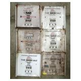 ORG. GILBARCO PORC. PUMP PLATE FACES