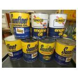 SUNFLEET/SUNOCO OIL CANS
